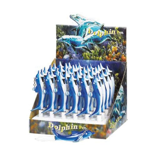 36 Pack Decorative Dolphin Including Display