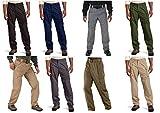 5.11 Tactical Men's Taclite Pro EDC Pants, Storm, 36-Waist/32-Length