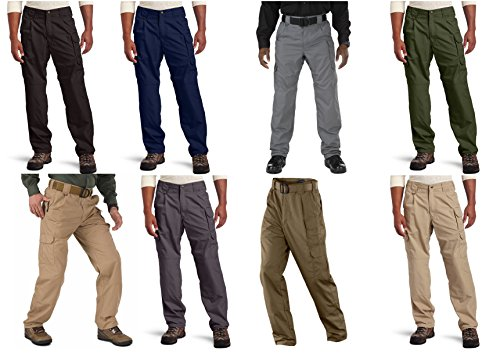 (5.11 Tactical Men's Taclite Pro EDC Pants, Storm, 36-Waist/32-Length)