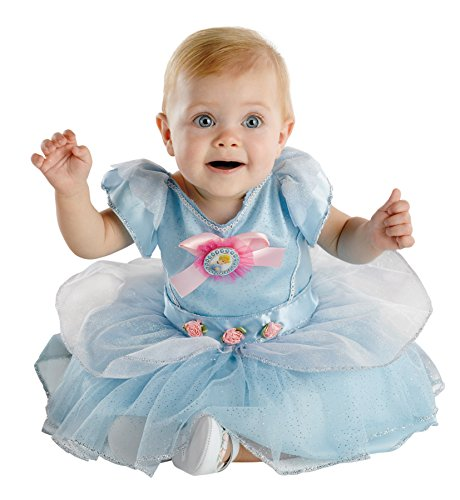 UHC Baby Girl's Disney Cinderella Princess Infant Fancy Dress Halloween Costume, 12-18M (Disney Character Mascot Costumes)