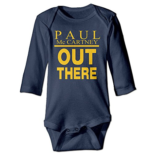 Boxer98 Newborn Paul Out There Long Sleeve Bodysuit Baby Onesie