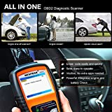 NEXPEAK OBD2 Scanner Orange-Black Color Display