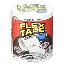 """Dlife Flex Tape White 4"""" x 5'"""