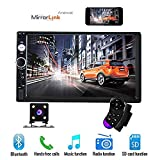 "7"" Double Din Car Stereo Audio Bluetooth MP5 Player USB FM Multimedia Radio"