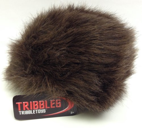Star Trek Tribble, Dark Brown - New Dual Sound Version - Large Size