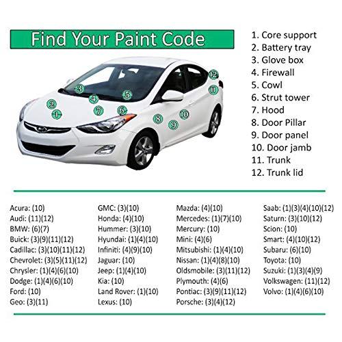 ERA Paints for Tesla Model-S 2012-2016 (PBSB Eclipse Black) Automotive Spray Paint Clearcoat Primer and Pro Kit by ERA Paints (Image #1)