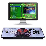 Video Game Console, 2 Players Multiplayer Home Arcade Console 1299 Games All in 1 Double Stick Newest Design Buttons Power HDMI VGA,BOD-726