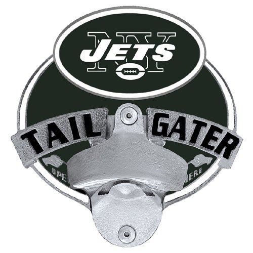 NFL New York Jets Tailgater Hitch Cover, Class III