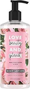 Love Beauty and Planet Lotion Delicious Glow Murumuru Butter & Rose, 400ml