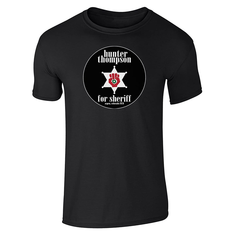 Amazon Hunter S Thompson For Sheriff Short Sleeve T Shirt By