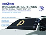 NFL Frost Guard Windshield Cover for Ice and