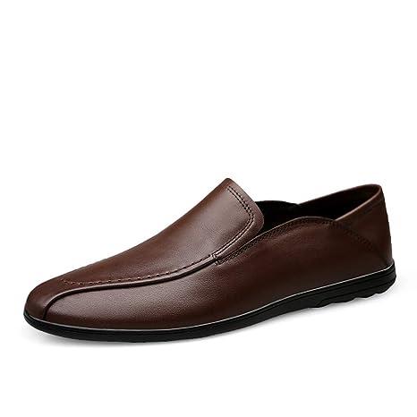 Xiaojuan-shoes, Mocasines clásicos de Estilo británico para Hombre, cómodos y Transpirables,