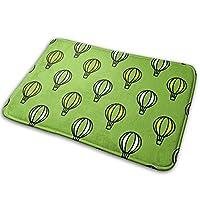 Air Balloon Doormat, Carpet19.531.5 Inch Low-Profile Waterproof, Non Slip, Easy Clean, Washable Indoor/Outdoor Mats for Entry, Patio, Bathroom