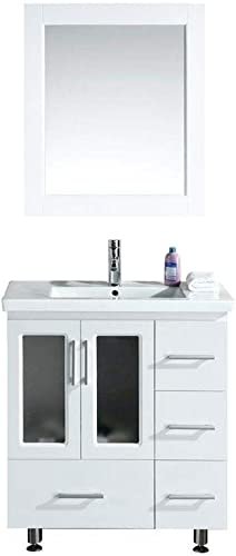 Design Element Stanton Single Drop-In Sink Vanity Set