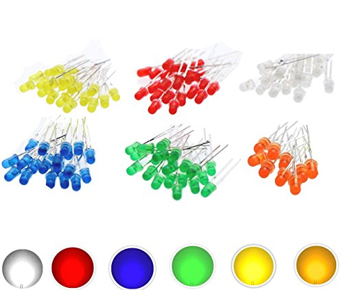 3Mm Led Lights With Resistor in US - 9