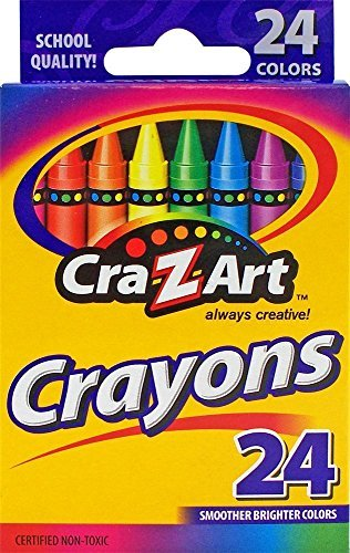 Cra-Z-art Crayons, 24 Count (6 pack)