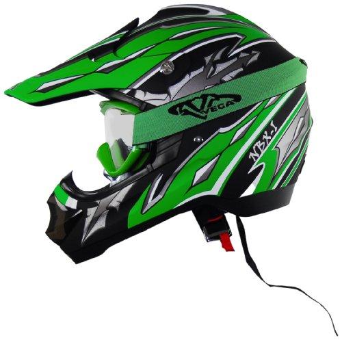 Vega Peewee Off Road Goggle Green product image