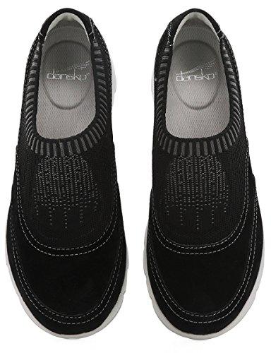 Dansko Alice Women's Suede Shoe Black rrnP1BFq