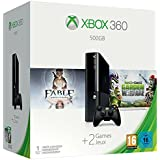 Xbox 360 500GB Console with Fable: Anniversary & Plants vs. Zombies