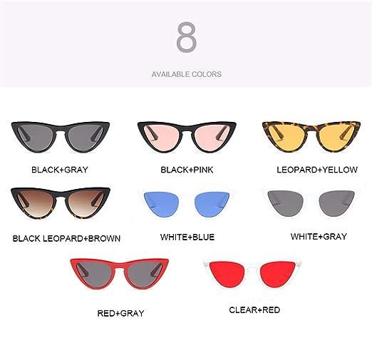 Wang-RX Gafas de sol para mujer Gafas de sol para dama Gafas ...