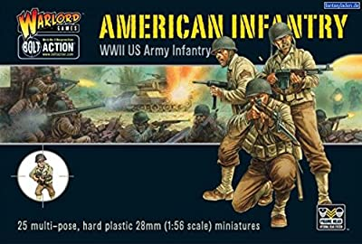 Bolt Action WWII American Infantry plastic boxed set from Warlord Games