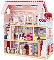 KidKraft Casa delle Bambole in Legno Chelsea Doll Cottage per Bambole