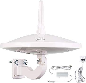 ANTOP antena HDTV 720°, antena de TV de exterior ...
