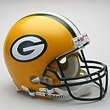 Green Bay Packers Riddell Full Size Authentic Proline Football Helmet