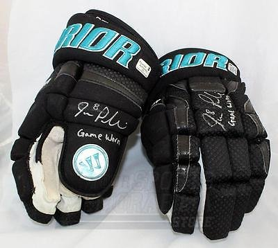 new style 91972 fe30c Joe Pavelski San Jose Sharks Signed Autographed Game Used ...