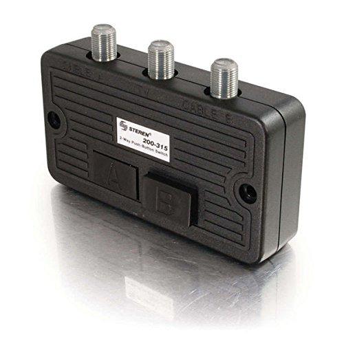 (C2G 41015 High Isolation AB Switch, Black)