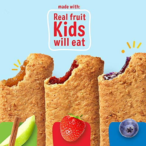 Nutri-Grain Soft Baked Breakfast Bars, 3 Flavor Variety Pack, Whole Grain Snacks, Kids Snacks (32 Bars)