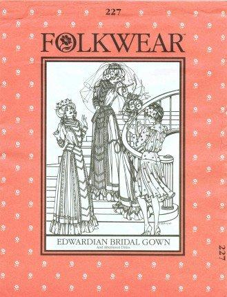 edwardian bridal dress - 3