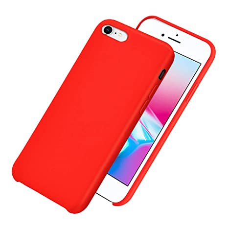 DoubTech Funda Silicona líquida iPhone 6S Plus/6 Plus, Cover ...