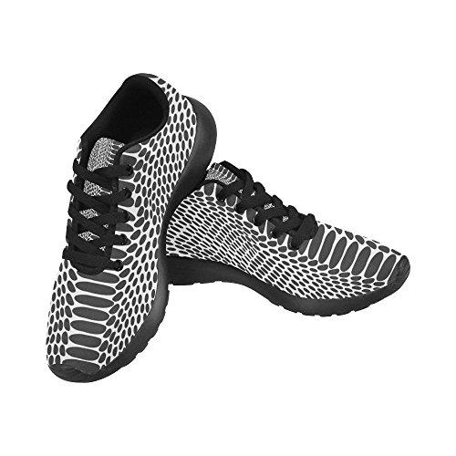 Interestprint Kvinna Löparskor Jogging Lätta Sport Gå Athletic Sneaker Multi 3