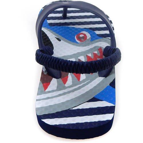 Walmart Shark Toddler Boys Printed Beach Flip Flops with