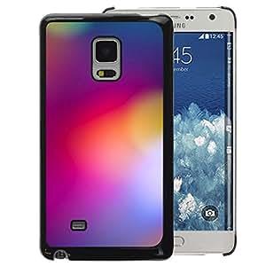 A-type Arte & diseño plástico duro Fundas Cover Cubre Hard Case Cover para Samsung Galaxy Mega 5.8 (Blurry Purple Yellow Lights Color Colors)