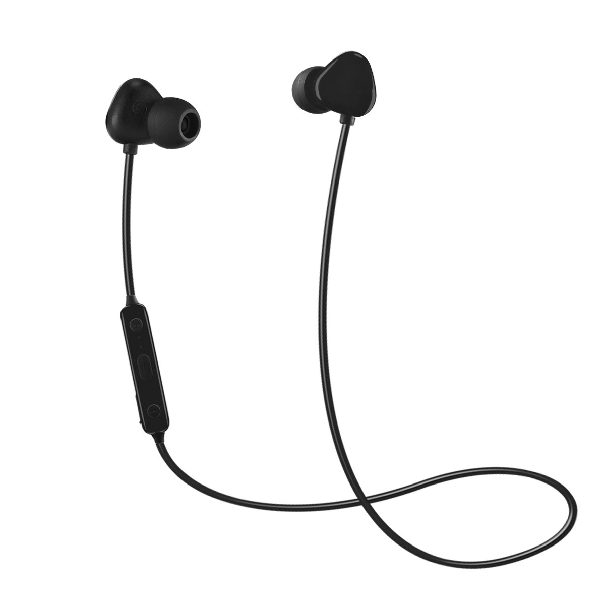 Bluetooth Headphones, BONAI In-Ear V4.2 Wireless Headset HD Stereo Noise Canceling Sweatproof Gym Sport Earphones for iPhone X/8/8 plus/7/6, Samsung S8/S7/S6 Note 8/7 and Android Smartphones