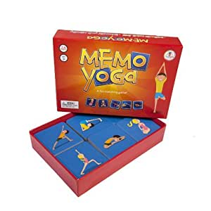 Memo Yoga Card Game