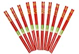Bamboo chopsticks (Red)