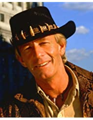Crocodile Dundee Paul Hogan classic in hat 8x10 Promotional Photograph