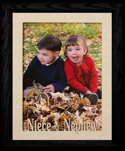 Amazon.com - 5x7 JUMBO ~ NIECE & NEPHEW Portrait Picture Frame For a ...
