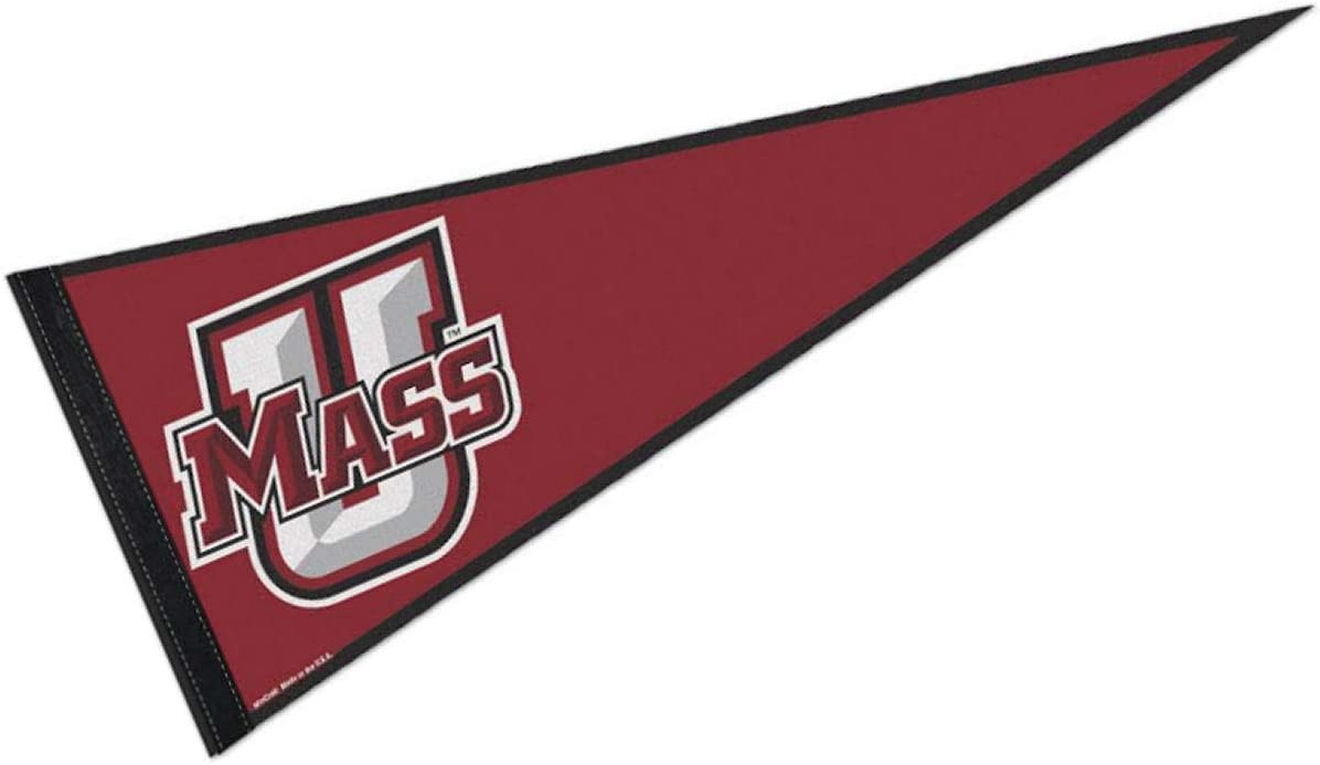 College Flags & Banners Co. UMass Pennant Full Size Felt
