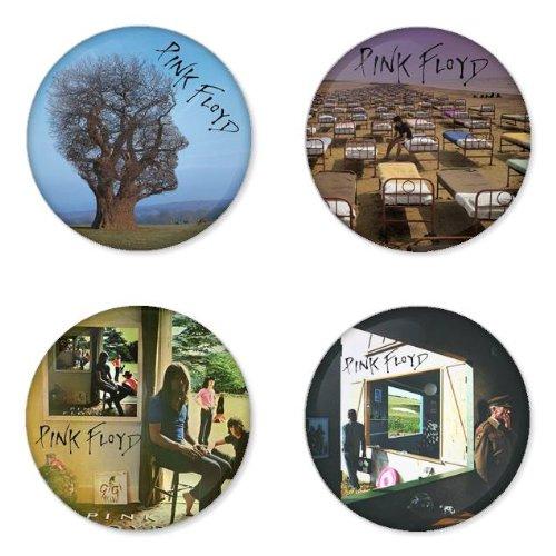 PINK FLOYD round badges 1.75