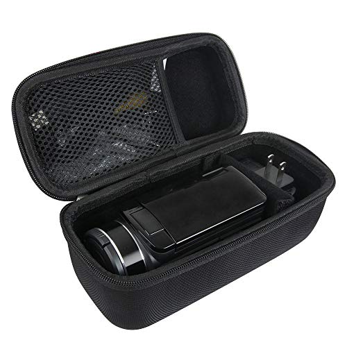 Video Hard Case - Hermitshell Hard Travel Case for Video Camera Camcorder SOSUN/Kicteck/Actinow/GordVE/AiTechny/FLOUREON/Baize/FamBrow/Lyyes/kimire/Canon VIXIA HF R800