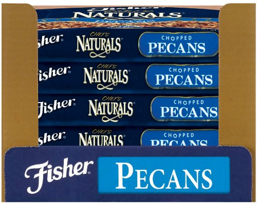 Fisher Pecan Pieces, Raw, Fancy, Large, 30-Pound Package