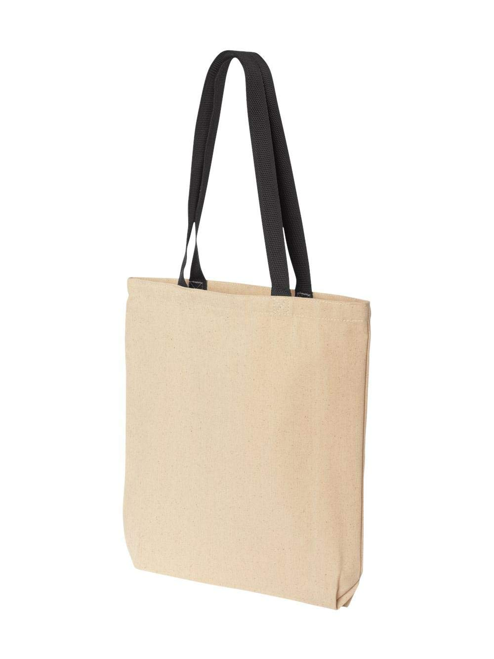 Liberty Bags Marianne Contrast Canvas Tote, One Size, Natural/Black by Liberty Bags (Image #1)