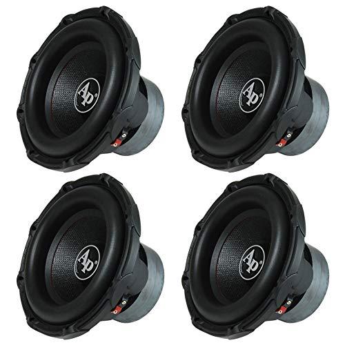 "Audiopipe 12"" 1600 Watt Car Audio 4 Ohm DVC Subwoofer Sub TXXBD12 (4 Pack)"