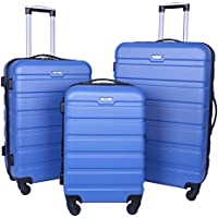 Travelers Club Hardside Expandable Spinner Luggage Set with Cup Holders (3-Piece)