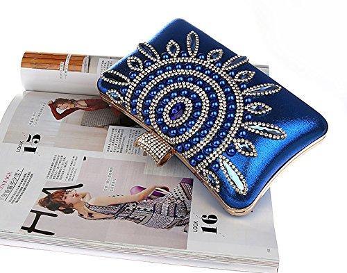 TOOKY TOOKY pour femme Pochette TOOKY Pochette pour femme Bleu Pochette Bleu 5TAqw