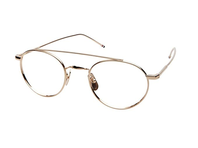 ffca3bf86a4 Image Unavailable. Image not available for. Colour  Eyeglasses THOM BROWNE  TB 101 B-GLD ...